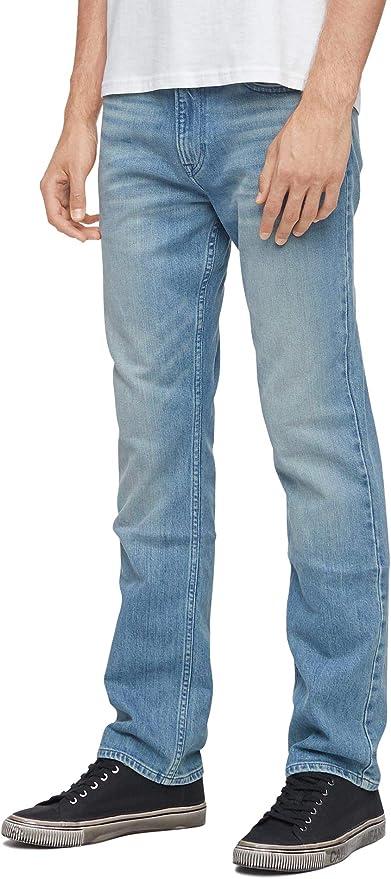 Calvin Klein 卡尔文克莱因 CK 男式直筒牛仔裤 2.7折$23.99 海淘转运到手约¥214