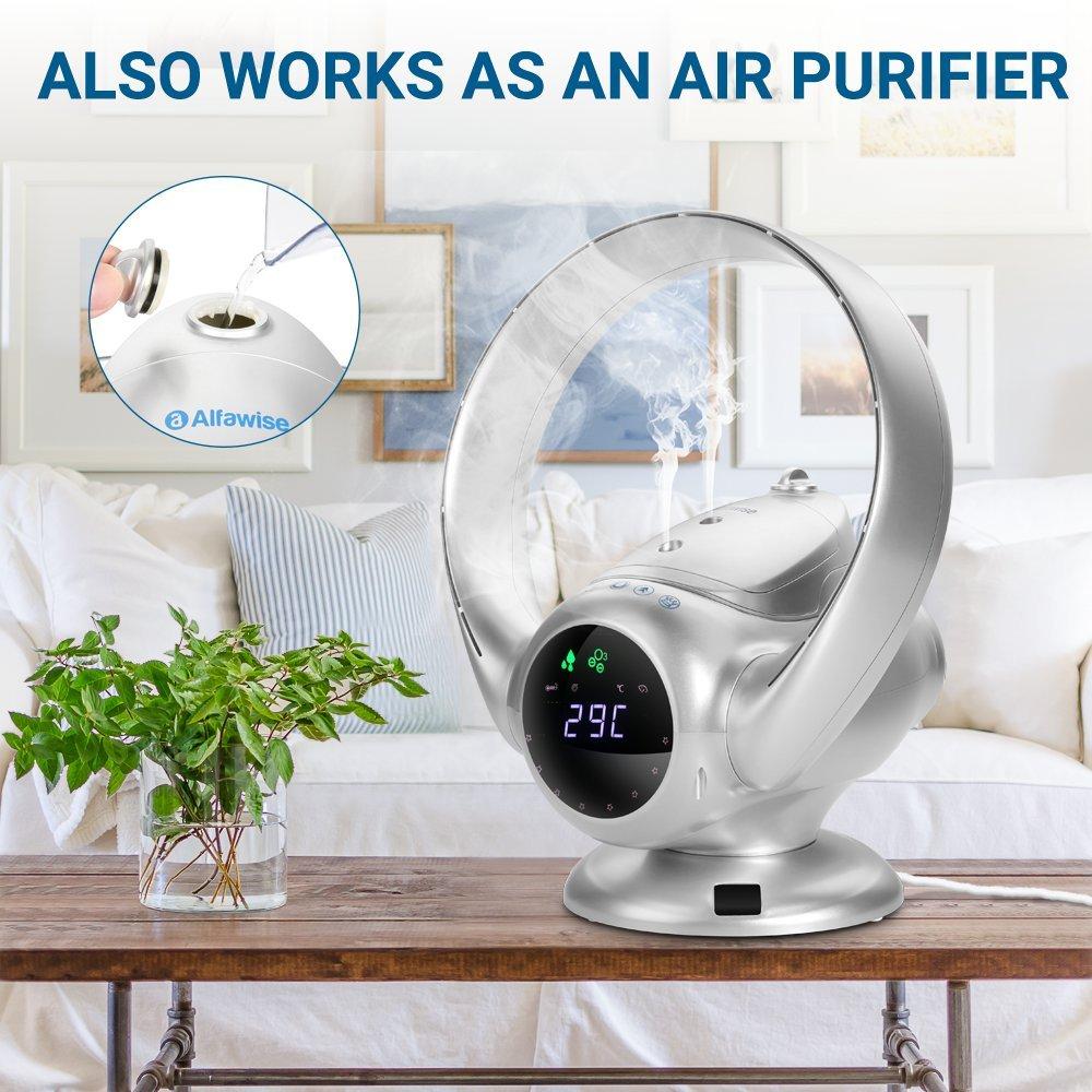 Oferta ventilador sin aspas Alfawise por 79 euros en Amazon (Cupón Descuento) 1 ventilador mycarbon