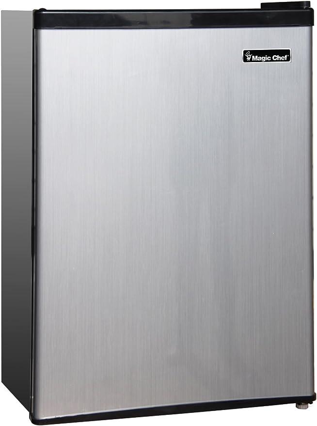 Amazon.com: Refrigerador Magic Chef, Acero inoxidable: Aparatos