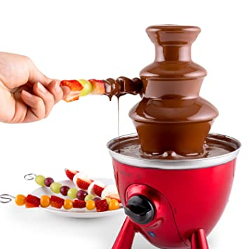 Amazonde Oneconcept Cioccolata Di Trevi Schokobrunnen