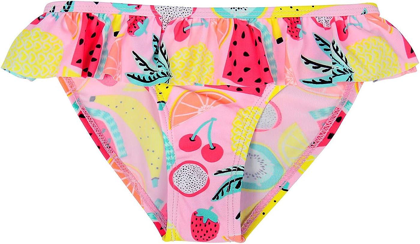 MetCuento Baby Girls Swimsuit Two Piece Swimwear Ruffles Sleeve Bathing Suit Summer Beach Wear Swimming Tankini Sets
