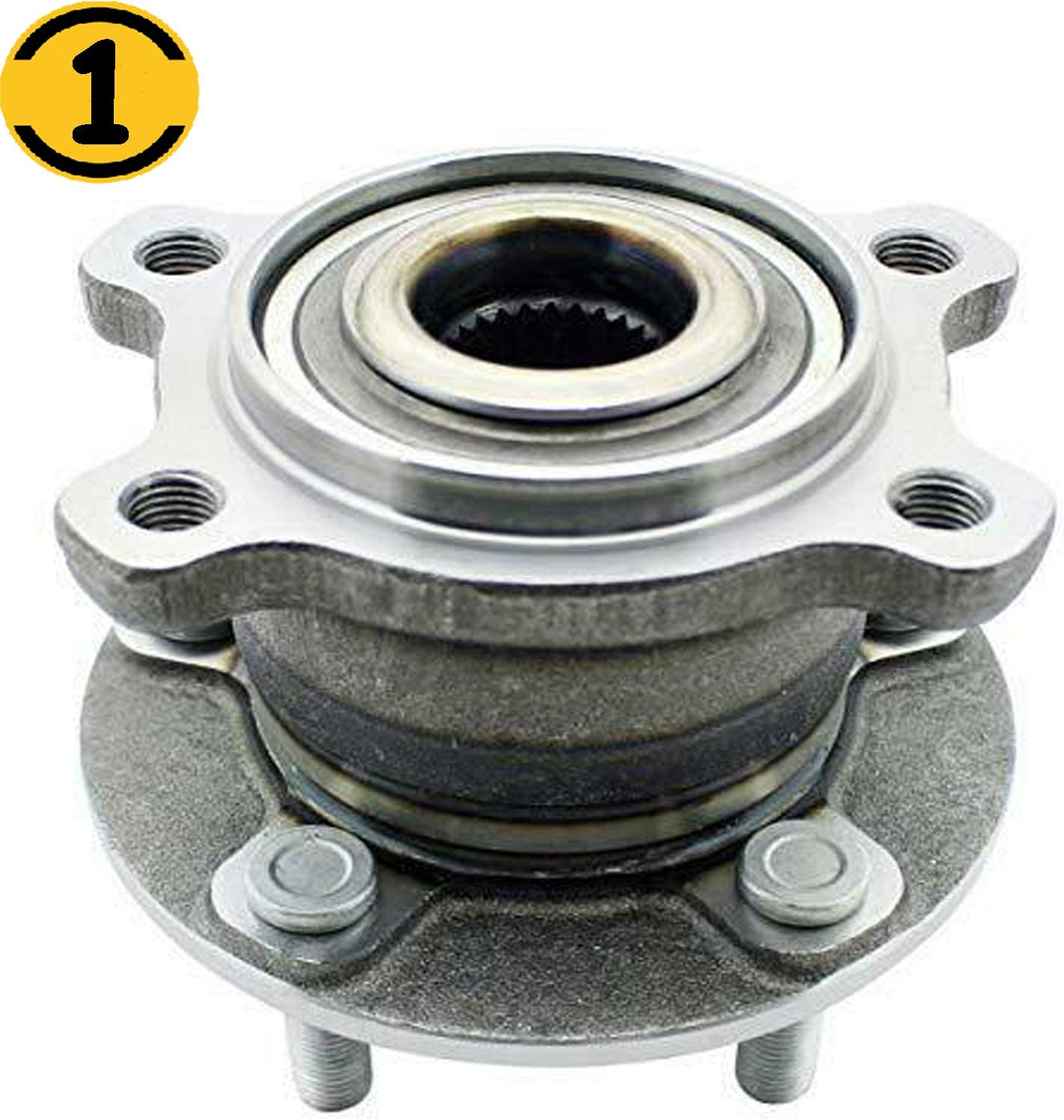 2014 Fits Ford Escape Rear Wheel Bearing and Hub Assembly x 2
