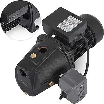 3//4 HP Shallow Well Jet Pump w// Pressure Switch Heavy Duty IP44  Jet Pump
