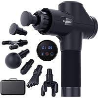 Pistola de masaje muscular fusión percusión de tejido profundo masajeador muscular pistola para atletas alivio del dolor…