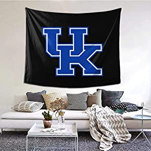 Zilld University of Kentucky Tapestry Wall Hanging Home Decorations for Living Room Bedroom Dorm Decor 60x51 inch
