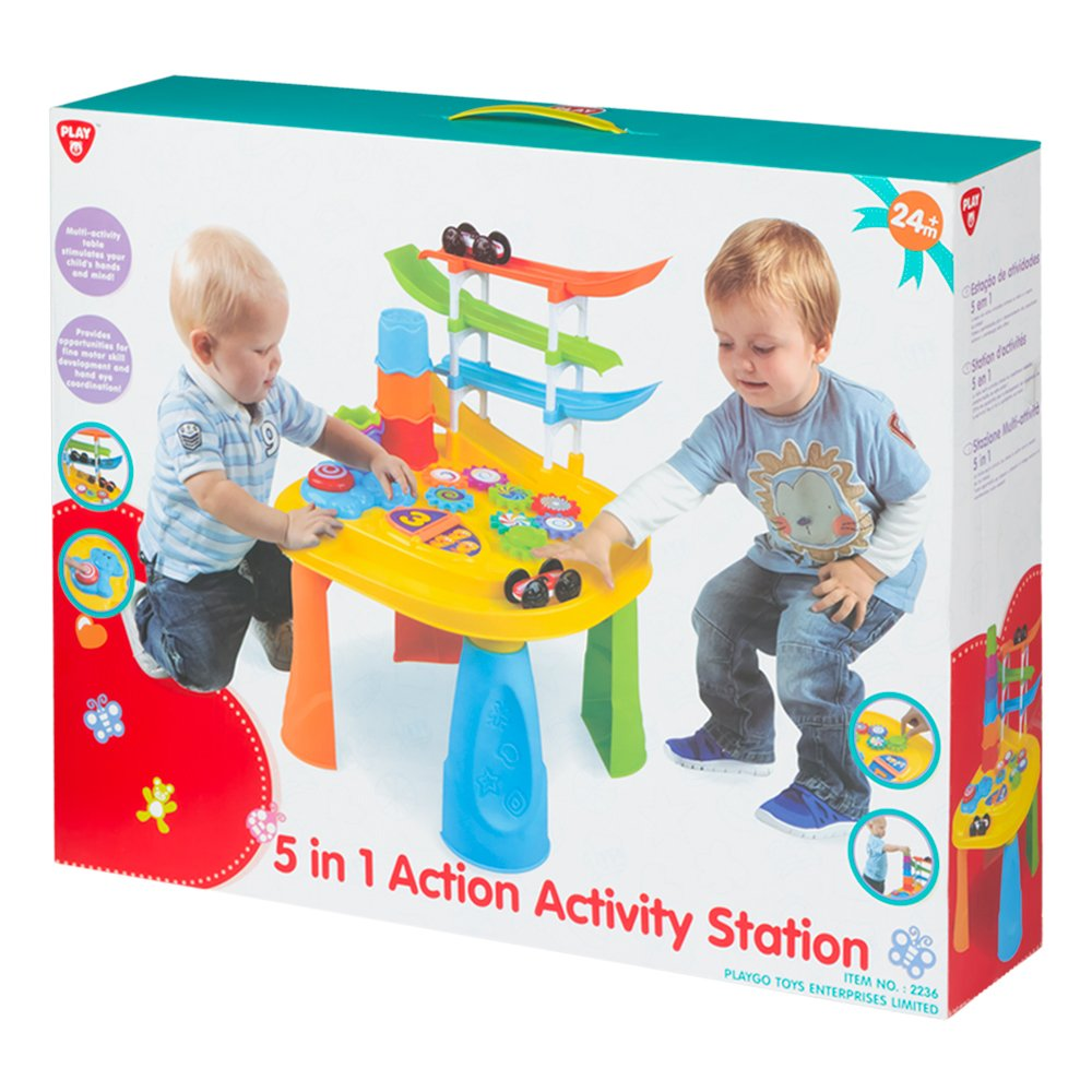 PlayGo- Mesa multiactividades 5 en 1 (Colorbaby 44556): Amazon.es ...