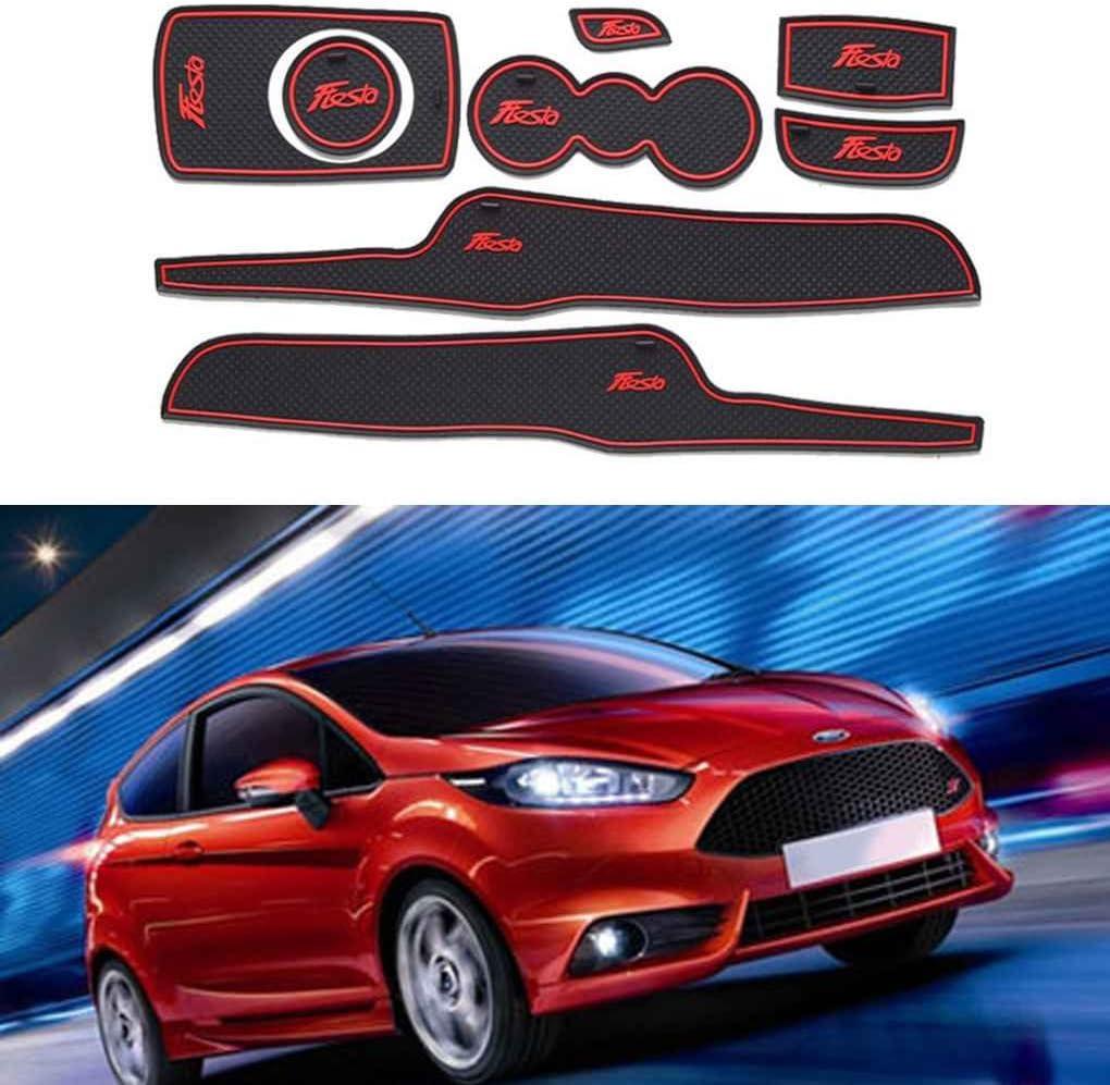 Porte Automatique Groove Pad Voiture Anti-poussi/ère Porte Fente Coussins Int/érieur de Voiture pour Ford Tapis d/écoration soign/ée Fiesta 09-14 Regard