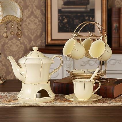 Taza de café ZHAOJING Set de Tazas de té de la Tarde de café para el