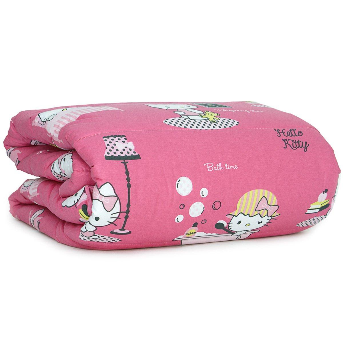 Copriletto Hello Kitty Singolo.Copriletto Stampato Singolo 1 Piazza Gabel Cotone My Home Hello Kitty