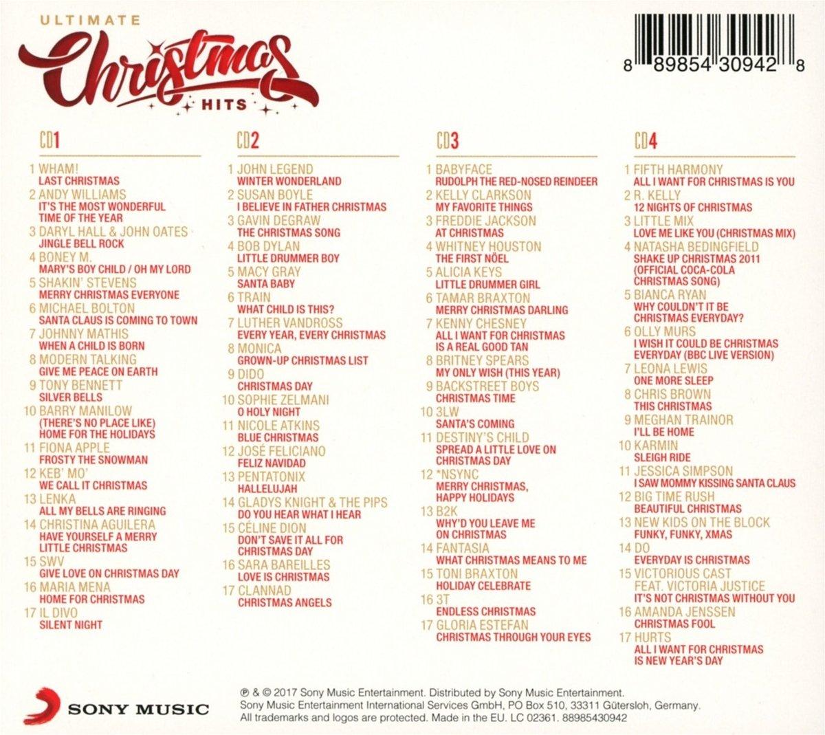 VARIOUS ARTISTS - Ultimate Christmas Hits / Various - Amazon.com Music