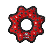 Ultimage Gear Ring Paws Dog Toy, Red