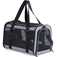 """Petsfit Soft-Sided Pet Carrier, Most Airline Approved Cat Carrier, 18"""" x 11"""" x 11"""""""