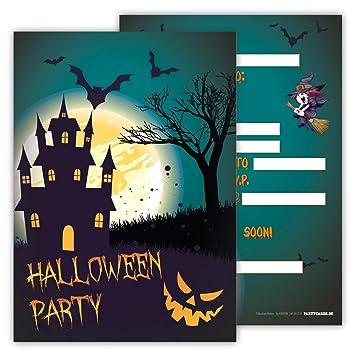 Amazon.com: Spooky Halloween invitaciones a fiesta Pack de ...