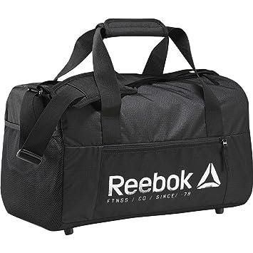 Reebok Found S Grip Bolsa de Deporte, Niños, Negro, Talla ...