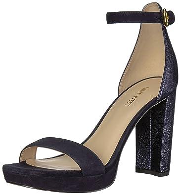 info for huge inventory united kingdom Nine West Women's Dempsey Metallic Heeled Sandal