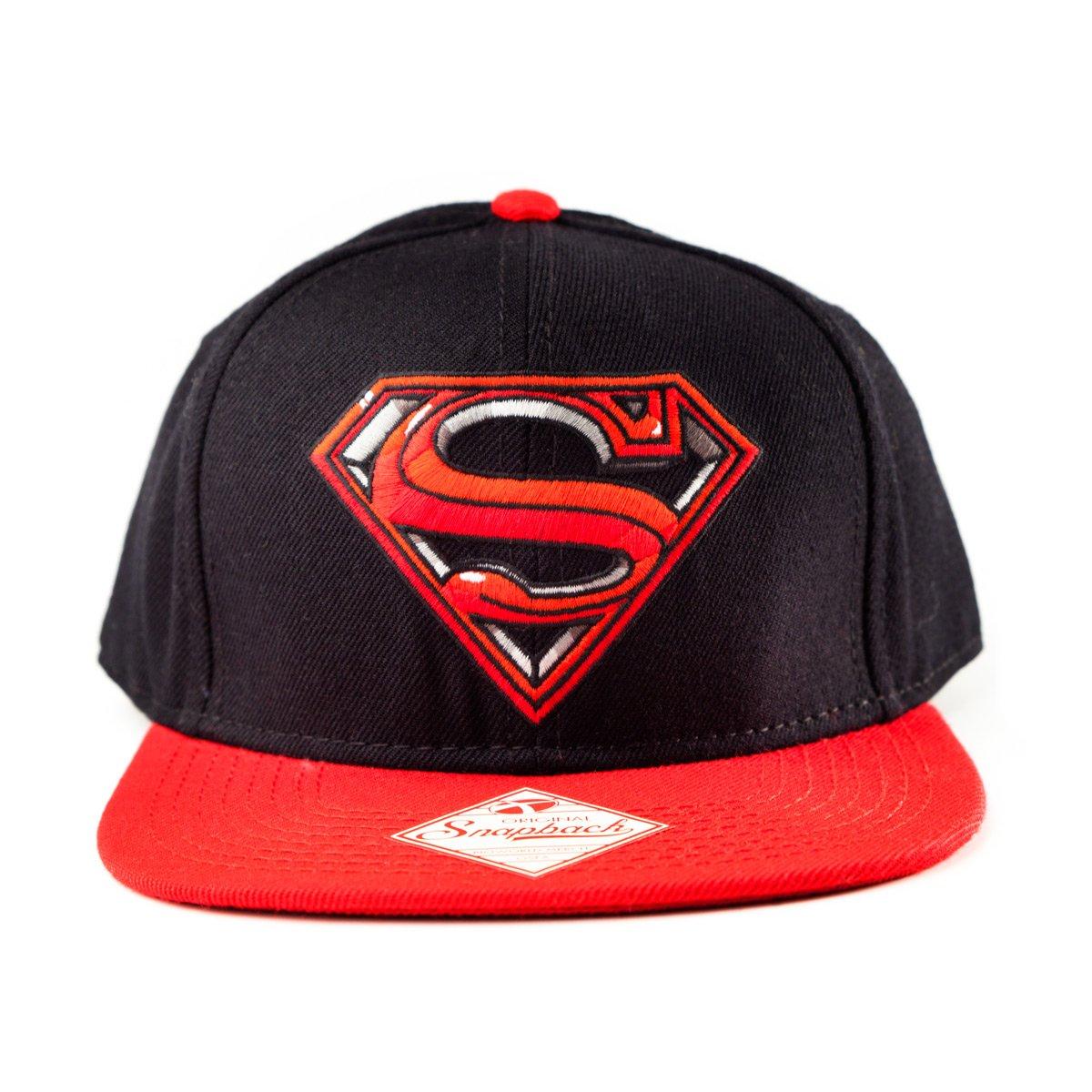 Superman Cap Original Snapback Black - Gorra de béisbol  Amazon.es   Deportes y aire libre 5af92fa7043