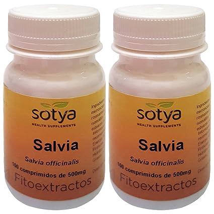 SALVIA 500mg. 2 x 100 Comp. SOTYA