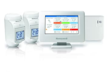 Honeywell evohome thr99 C3112 termostato conectable con relé de control caldera, color blanco: Honeywell: Amazon.es: Bricolaje y herramientas
