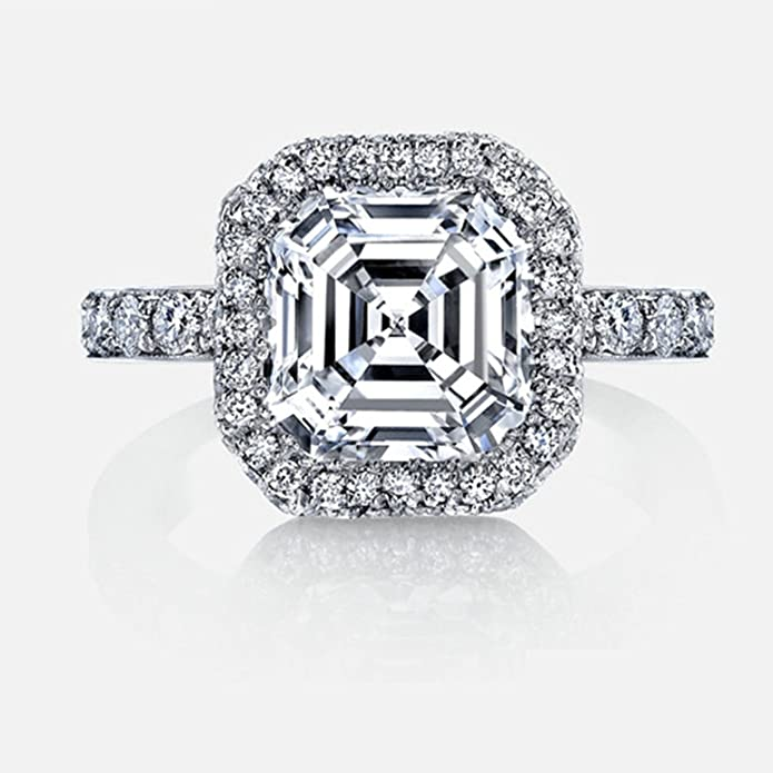 AmDxD Jewelry - Anillo Personalizado para Mujer, Plata de ...