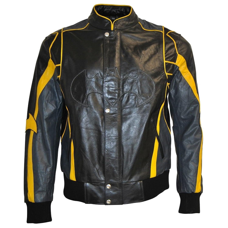 Classyak Men's Batman Fashion Leather Jacket
