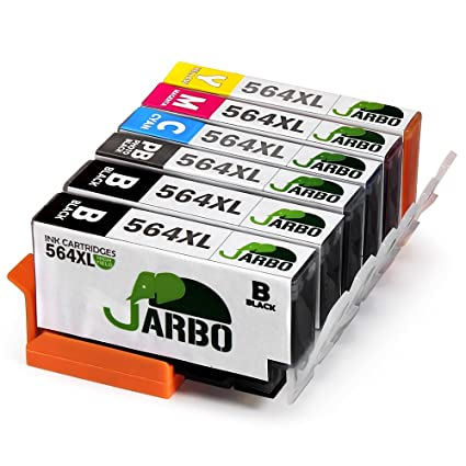 Amazon Jarbo 5 Color Compatible Ink Cartridge For Hp 564 High