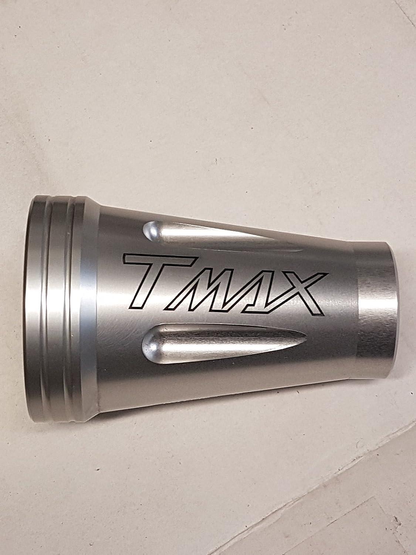 Coprimozzo copri perno alluminio con incisione x Tmax da 2008 al 2011 T max oro