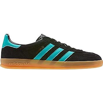 adidas gazelle nero and blue