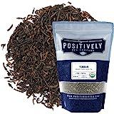 Organic Positively Tea Company, Yunnan Black Tea, Loose Leaf, 16 Ounce