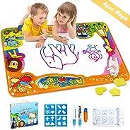 Betheaces Water Drawing Mat Aqua Magic Doodle Kids Toys Mess Free Coloring Painting Educational Writing Mats Xmas Gift for T