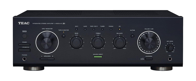 Teac A-R630B MK2 - Amplificador, Negro: Amazon.es: Electrónica