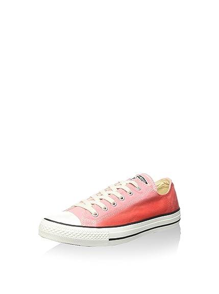 e37fca763cc0b Converse Men's Lace Up Flat Trainers Shoes DAYBREAK PINK/BRAKE LIGHT 6.5 UK