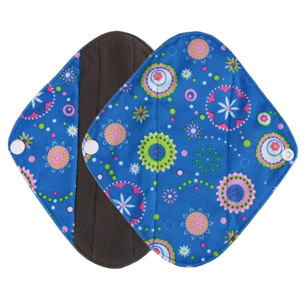 Mama Sanitary Towel Pad, Kingfansion Reusable Bamboo Cloth Washable Menstrual Pad Kingfansion2151