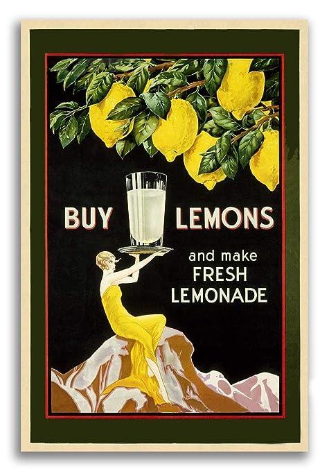 Amazon.com: Imán para comprar limones y hacer limonadas de ...