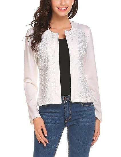 Veste tailleur blanc femme