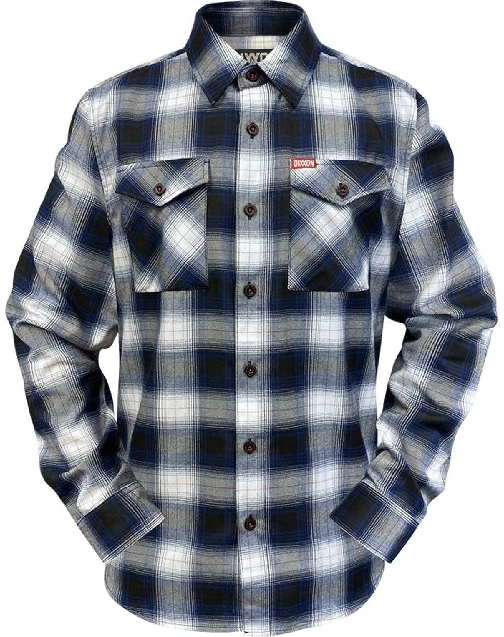 Docs Motorcycle Parts DIXXON Flannel Shirt Deadeye