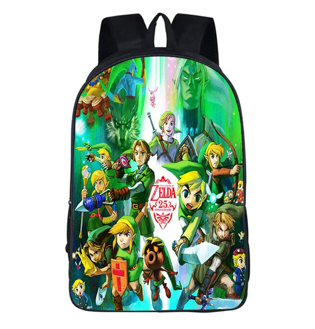 Cosstars The Legend of Zelda Jeu Impression d'image Backpack Cartable Sac d'école Étudiant Sac à Dos de Loisirs