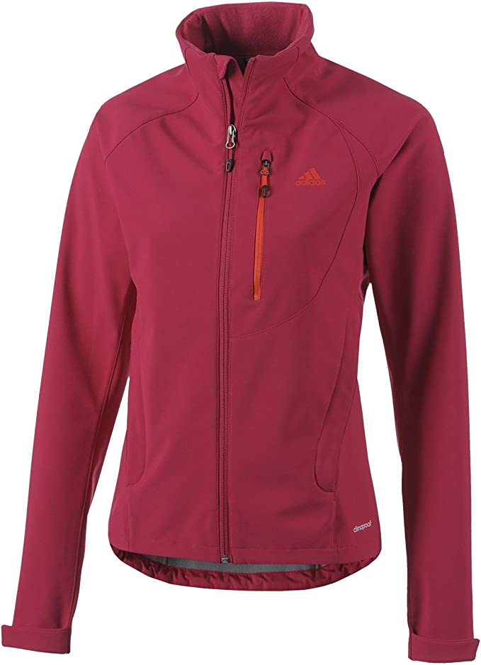: adidas Women's G91502 L W Ht Softshell Jacket