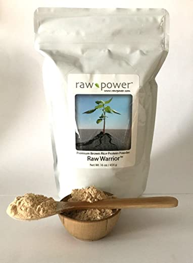 Raw Warrior Brown Rice Protein Powder