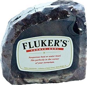 Fluker's Food/Water Reptile Corner Bowl, Small