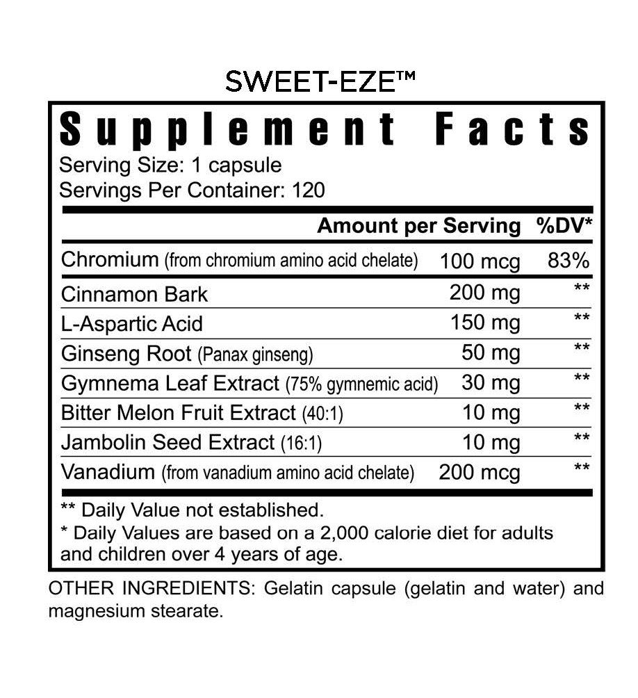 4 Bottles Slender FX Sweet Eze Blood Sugar Regulation Youngevity (Worldwide Shipping) by Youngevity