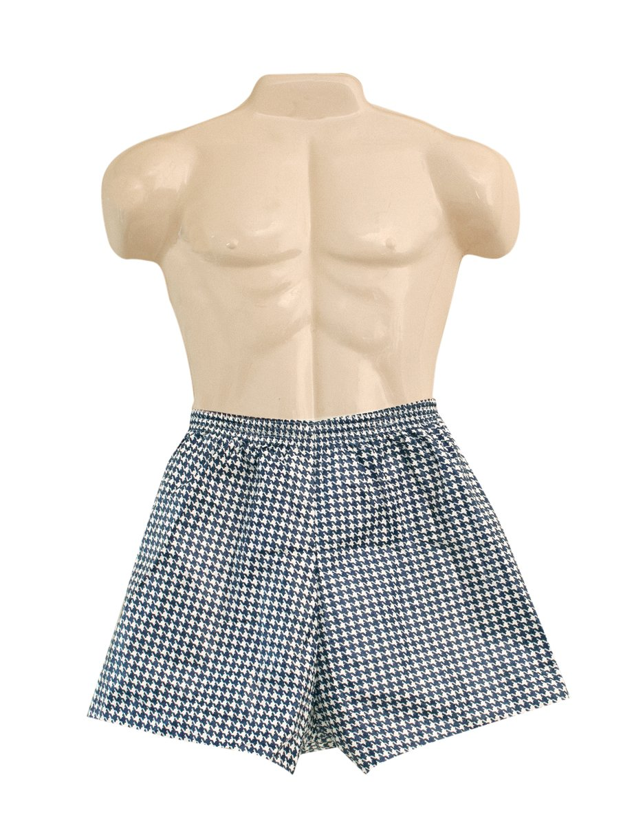 FEI 20-1000 Dipsters Elastic Waist Patient Wear Men's Boxer Short, Small (Pack of 12)