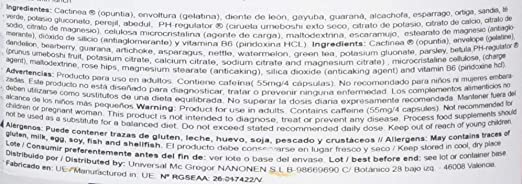 BIG Dry Diuretic Termogenico - 120 Cápsulas: Amazon.es: Salud y cuidado personal