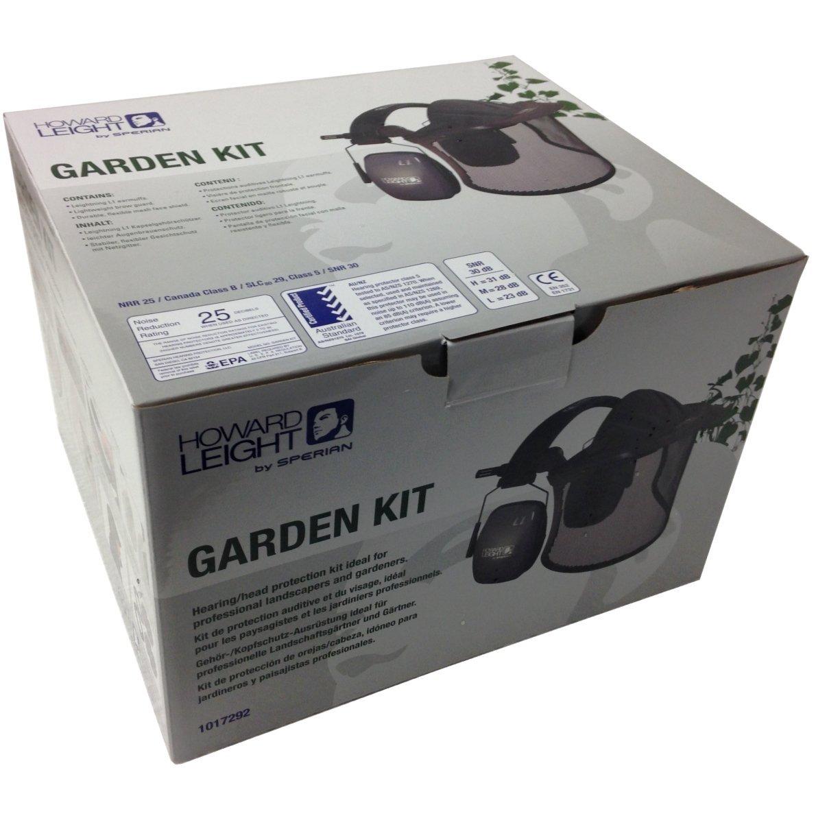 Honeywell Kit jardín Cara y Protección auditiva para Jardinero y ...