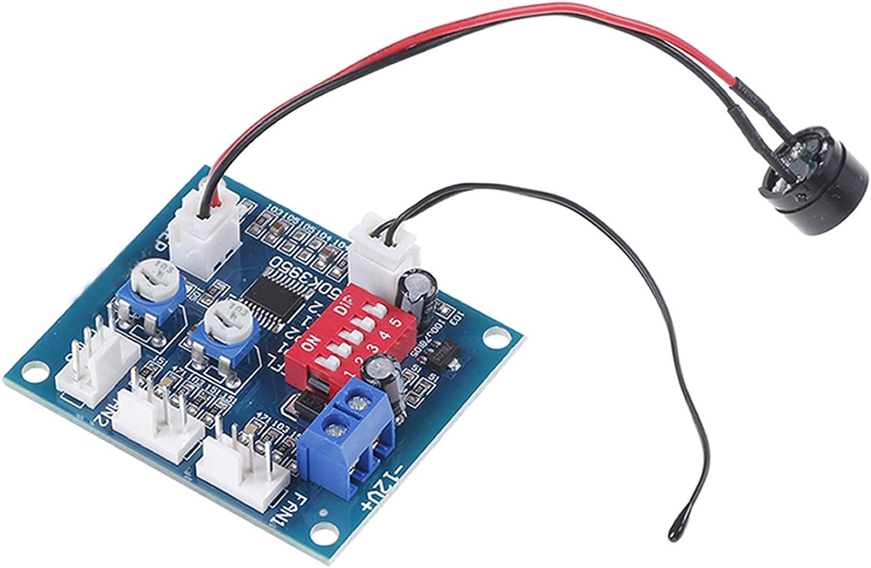 DC 12v pwm pc cpu fan temperature control speed controller modu/_kzMAP2FEH