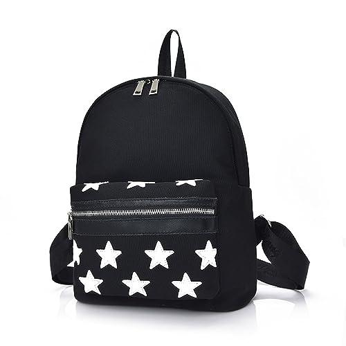 Outreo Daypack Mujer Mochila de Moda Bolsos Escuela Casual Bolso Vintage Backpack Escolares Bolsas de Viaje Baratos Bandolera Mochilas para Colegio Sport ...