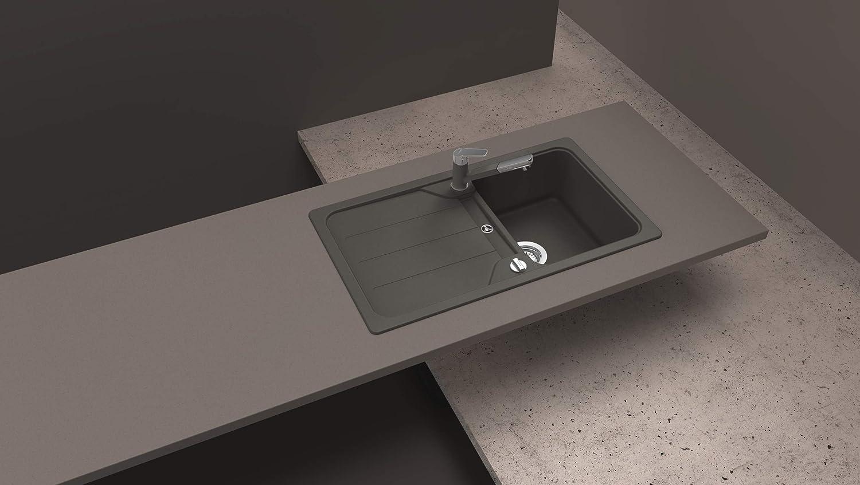 FOMD100AGAS Schock D-100 /Évier de cuisine en granit CRISTALITE 86 x 50 cm