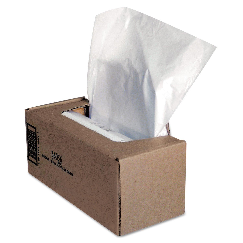 Fellowes\xae Powershred\xae Shredder Bags BAG,21X15X39,50/CT,CR (Pack of3)