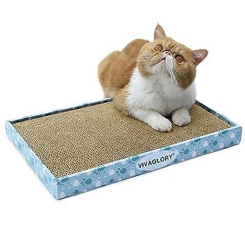 Amazon.com: Vivaglory - Rascador de gatos reversible de ...