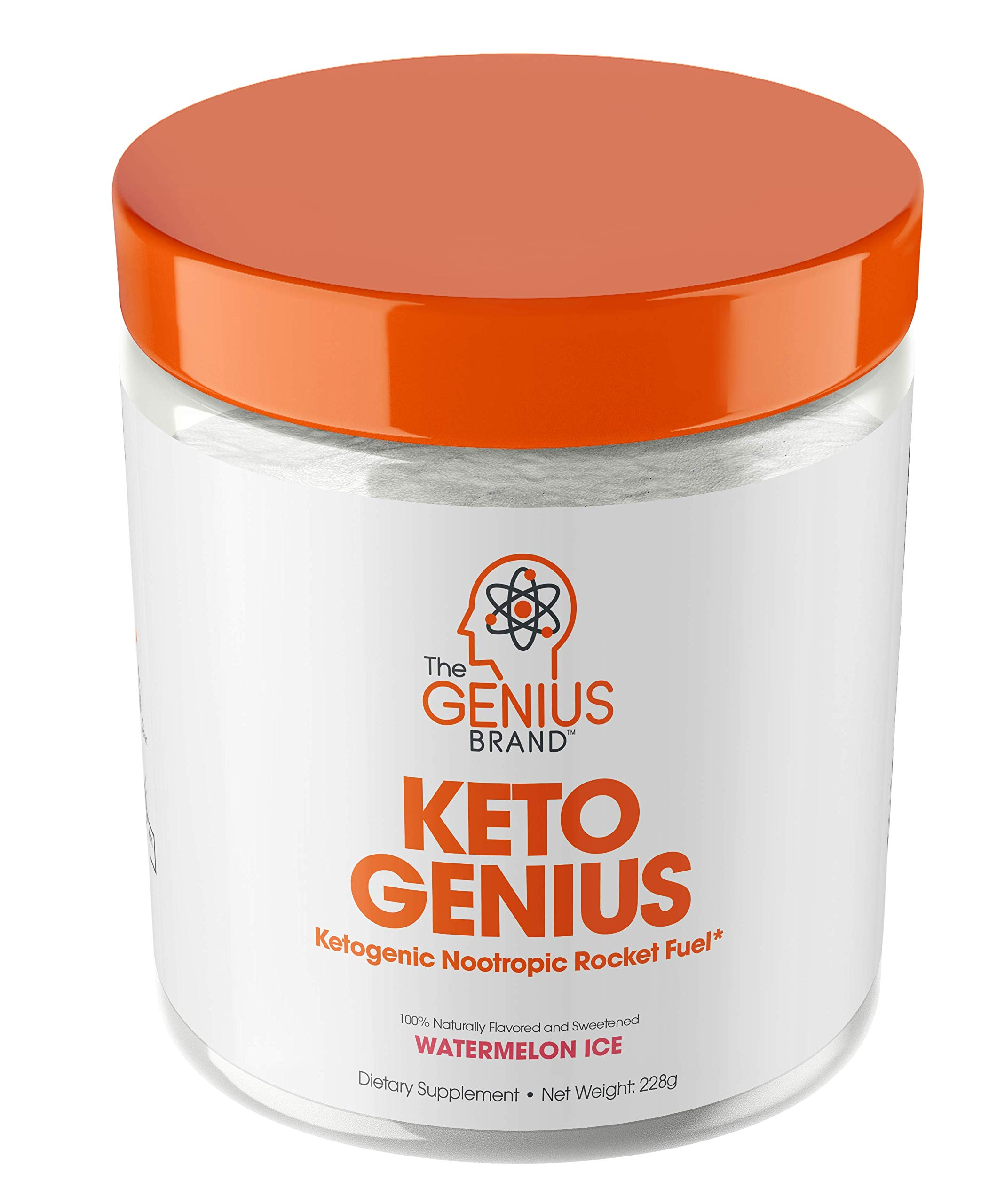 Keto Genius (BHB Exogenous Ketones + Nootropics) – Ketogenic Energy & Focus Supplement - Perfect Nootropic Brain Fuel to Spark Ketosis & Boost Clarity – Pure Ketone Drink Powder w/Alpha GPC –15sv
