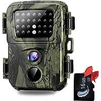SUNTEKCAM Mini Camara de Caza 20MP Fototrampeo 1080P Full HD con Detector de Movimiento Nocturna Infrared Camara…